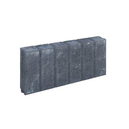 Quadroband antraciet 8x25x50 cm