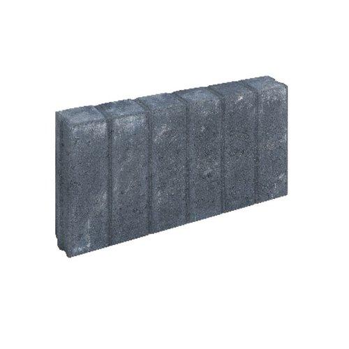 Quadroband antraciet 8x35x50 cm