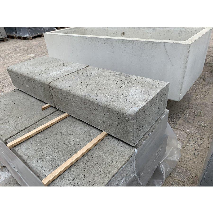Traptreden 15x30x50cm grijs Oud Hollands