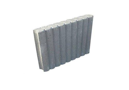 Rondobanden grijs Ø 8x35x50 cm