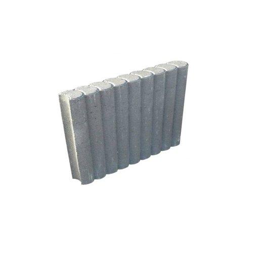Palissadebanden grijs Ø 8x35x50 cm