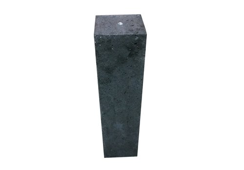 Betonpoer 12x12 en 66 cm hoog antraciet M16