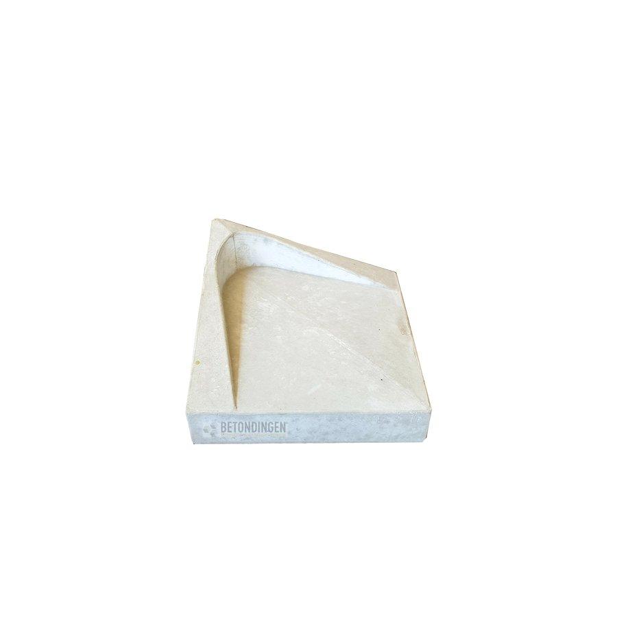 HA steen diagonaal grijs