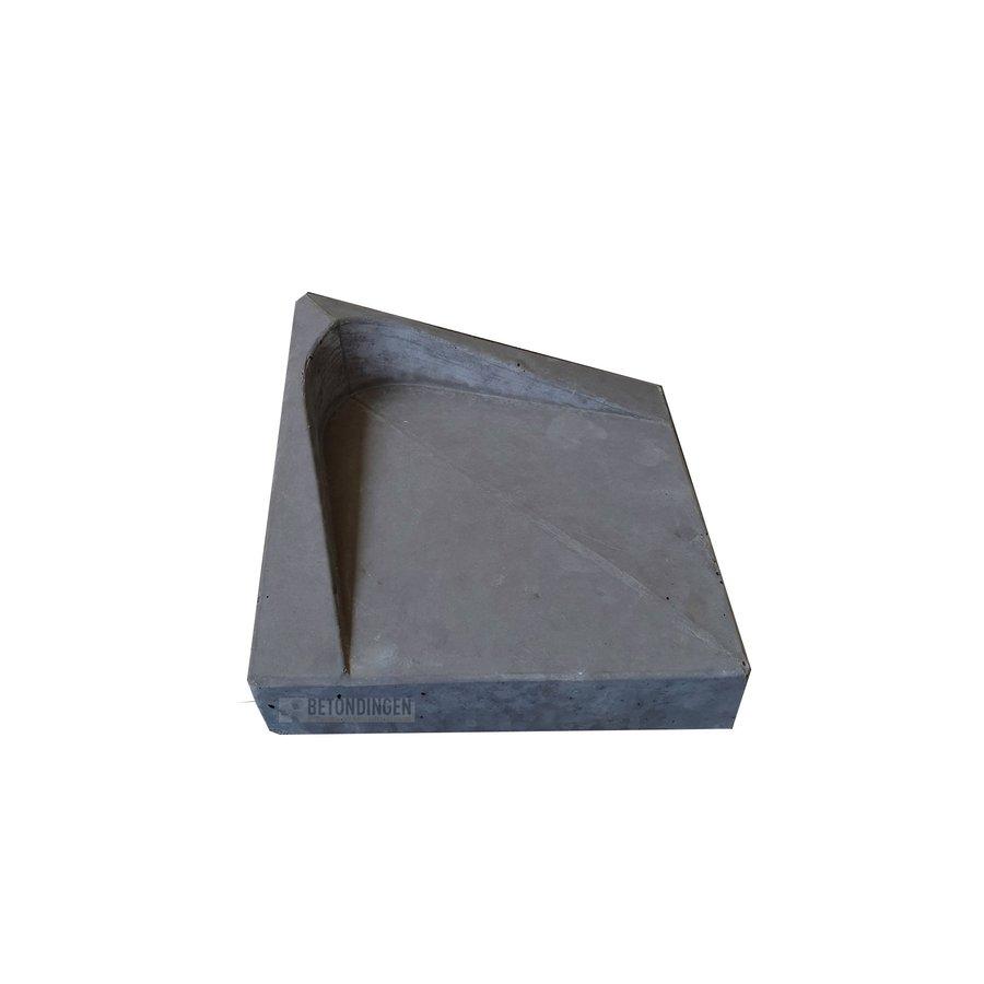 HA steen diagonaal antraciet