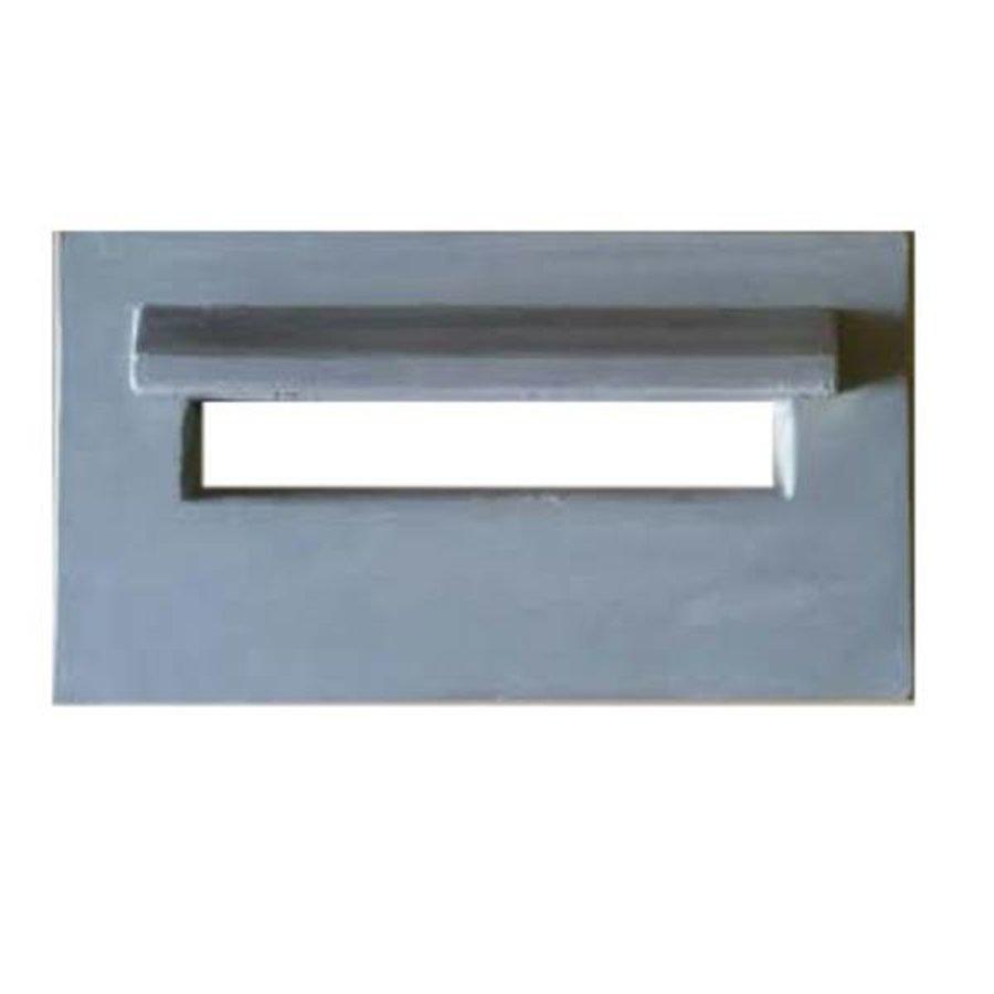 Inbouw brievenbus beton