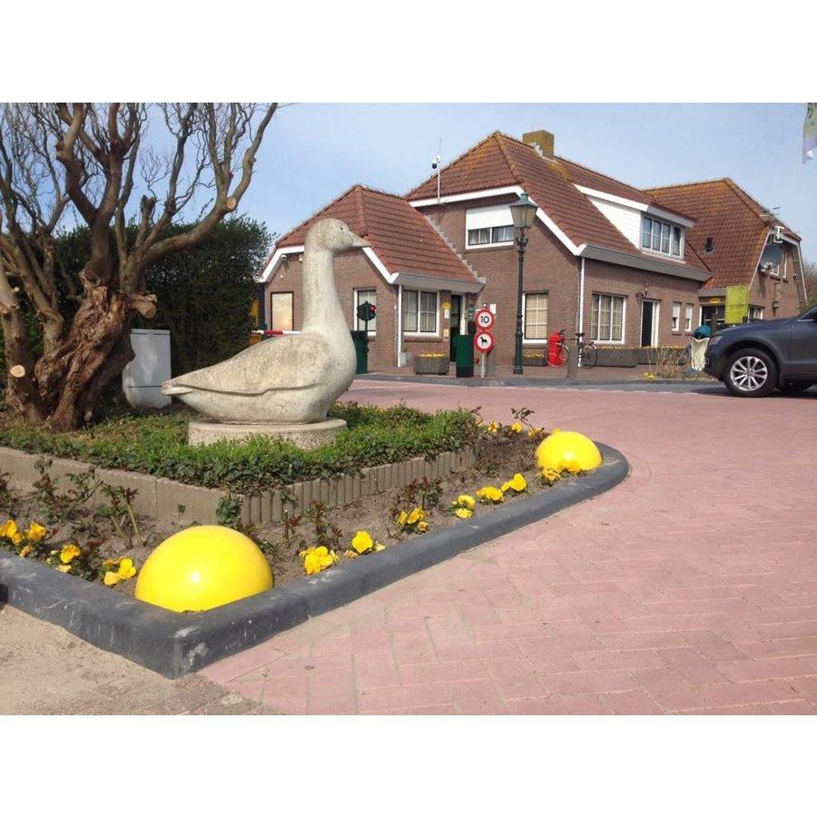 Parkeerbol geel Ø50 cm