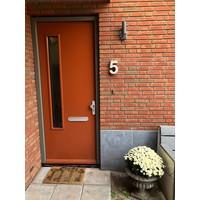 Huisnummer beton nr. 5