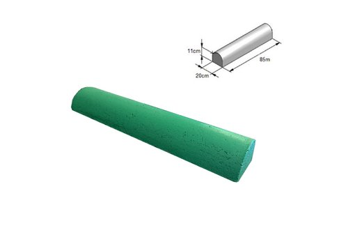 Varkensrug beton RECHT groen