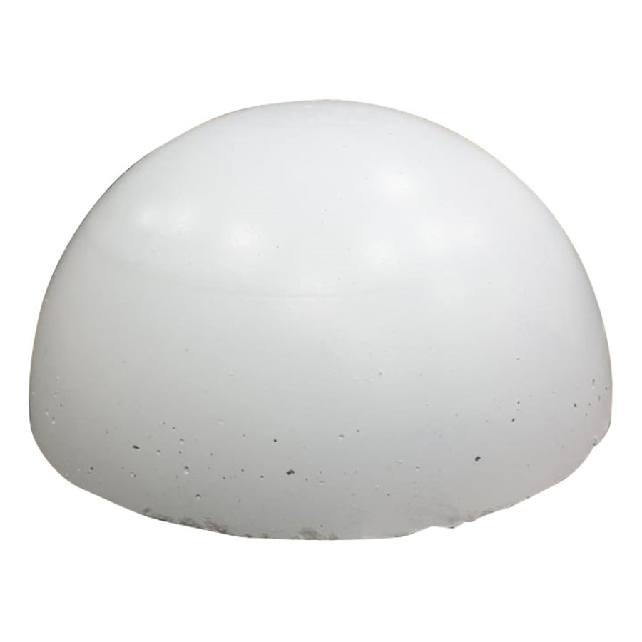 Parkeerbol wit Ø 50cm
