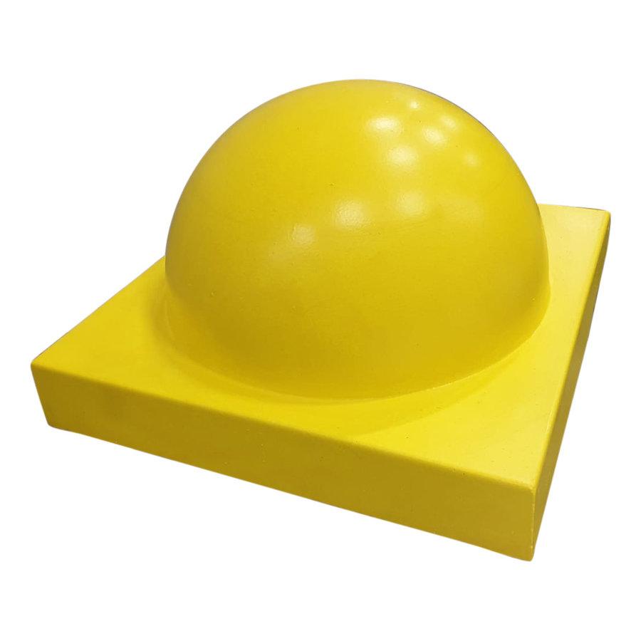 Parkeerbol op voet Groot geel Ø 50cm