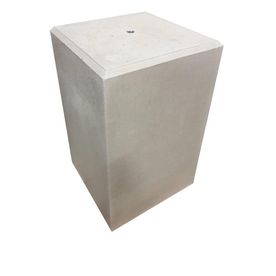Prefab Betonpoer grijs 30x30x50 cm M16