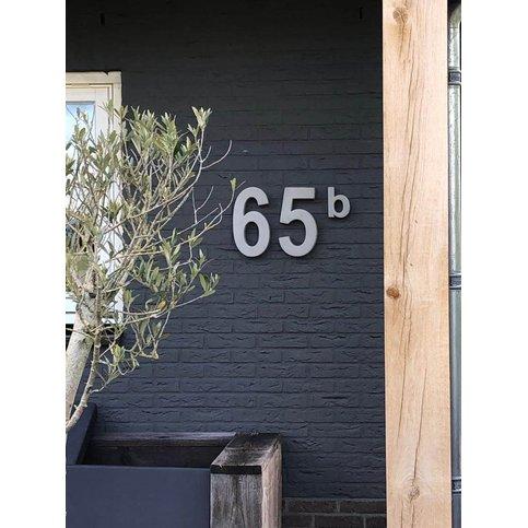 Betonnen huisnummer 5 GROOT