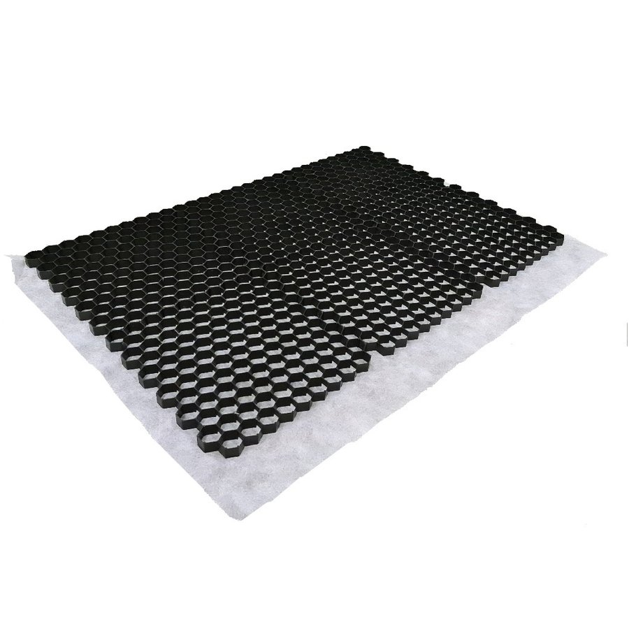 Grindmat Zwart 120x80x2,5 cm