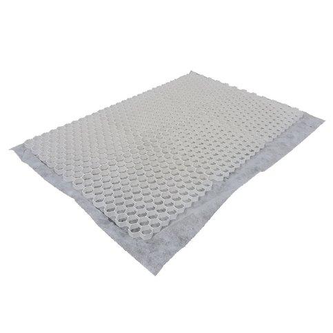 Grindmatten 120x80x2,8 cm wit