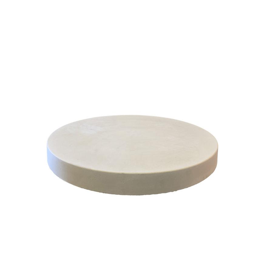 Ronde tegels grijs beton ø 95 cm