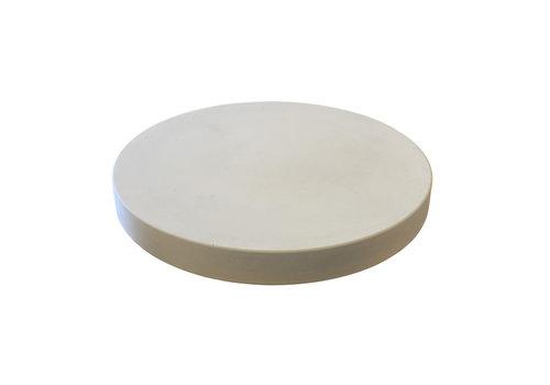Ronde betonnen tuintegel grijs ø 75 cm