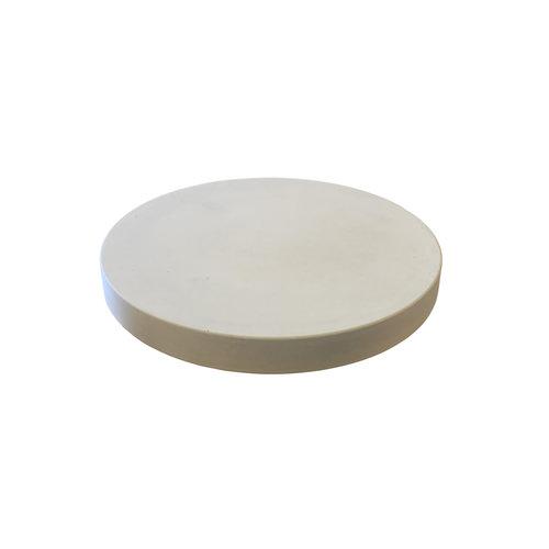 Ronde tegels grijs beton ø 75 cm