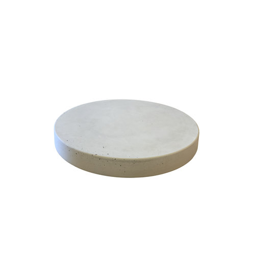 Ronde tegels grijs beton ø 55 cm