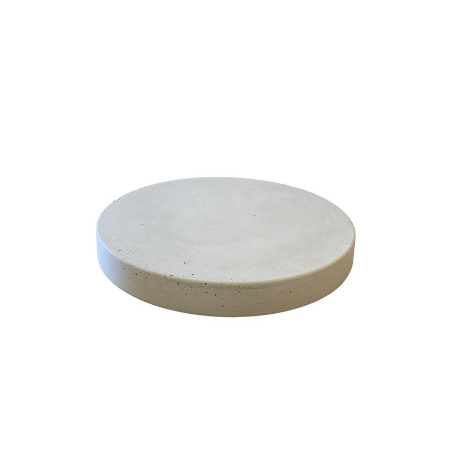 Ronde staptegels 55 cm grijs