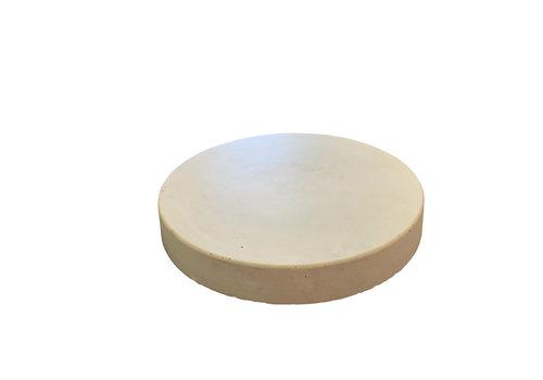 Ronde tegels grijs beton ø 45 cm