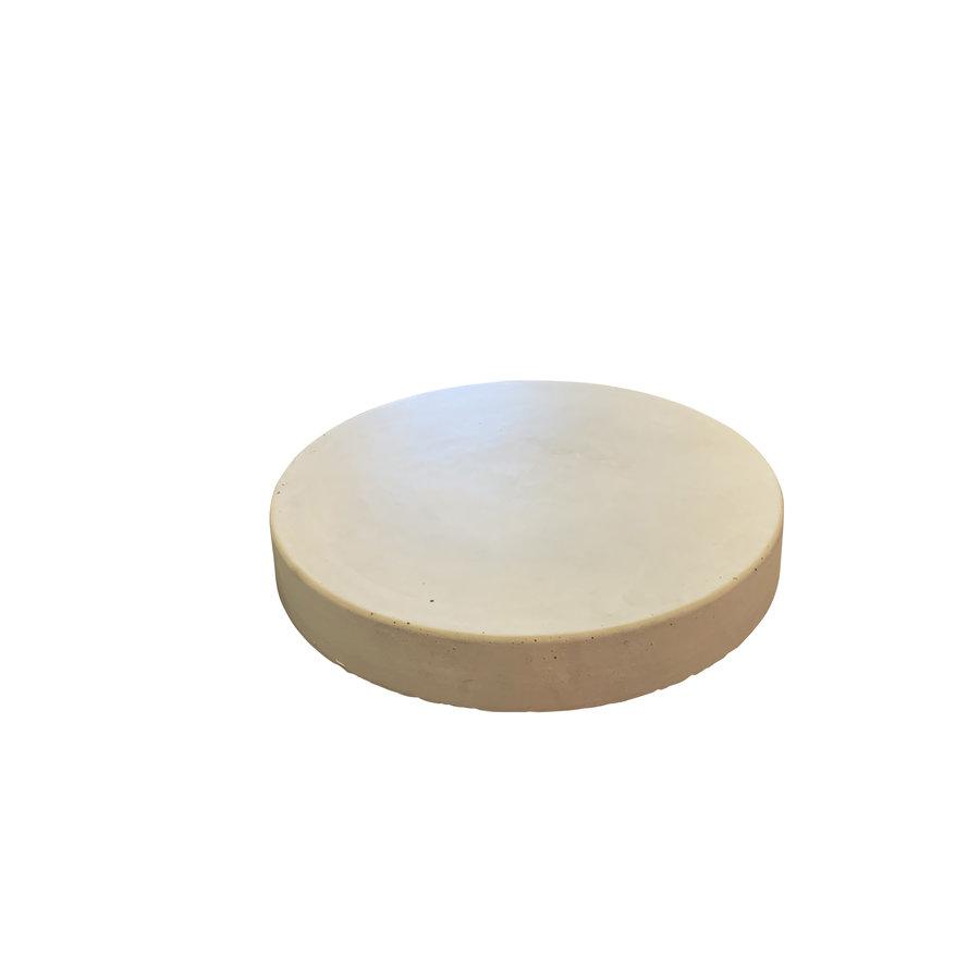 Ronde tegel grijs beton ø 45 cm