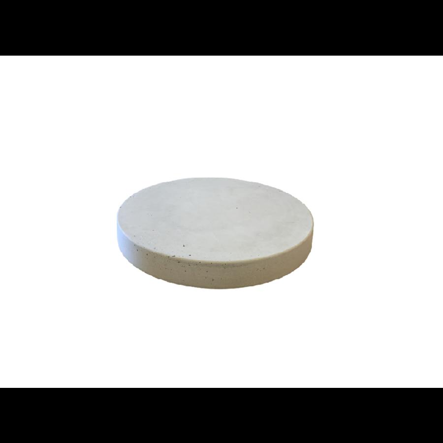Ronde staptegels 35 cm grijs