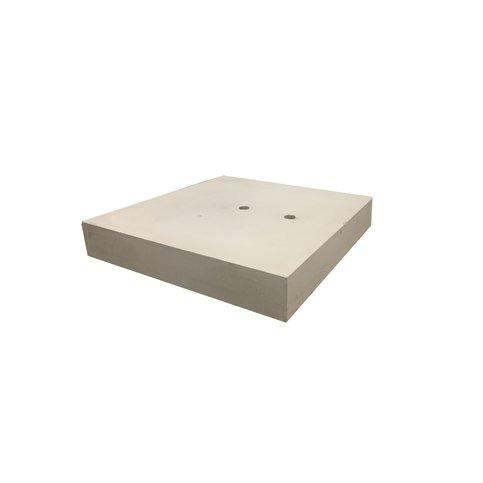 Ankerplaat beton 60x60 en 10 cm hoog