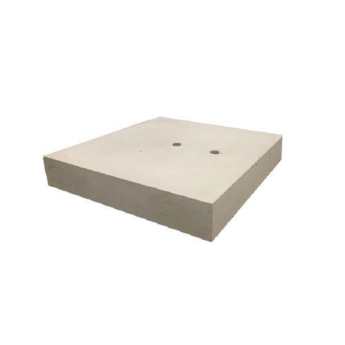 Betonnen ankerplaten 80x80x10 cm