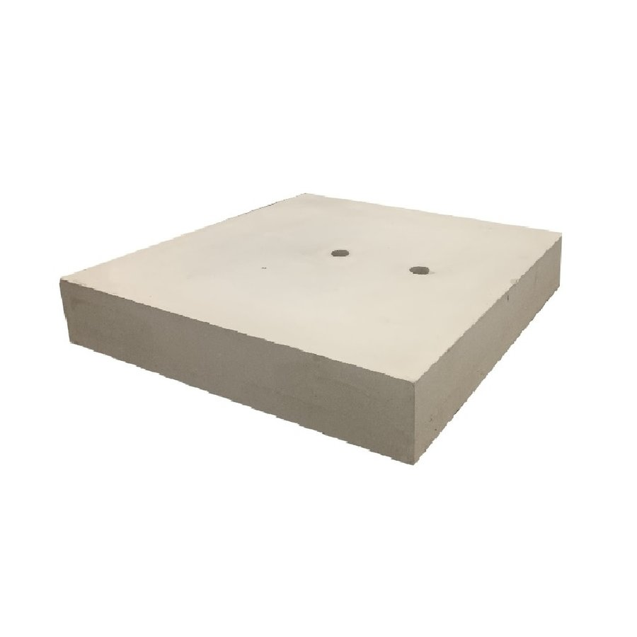 Ankerplaat beton 100x100 en 10 cm hoog