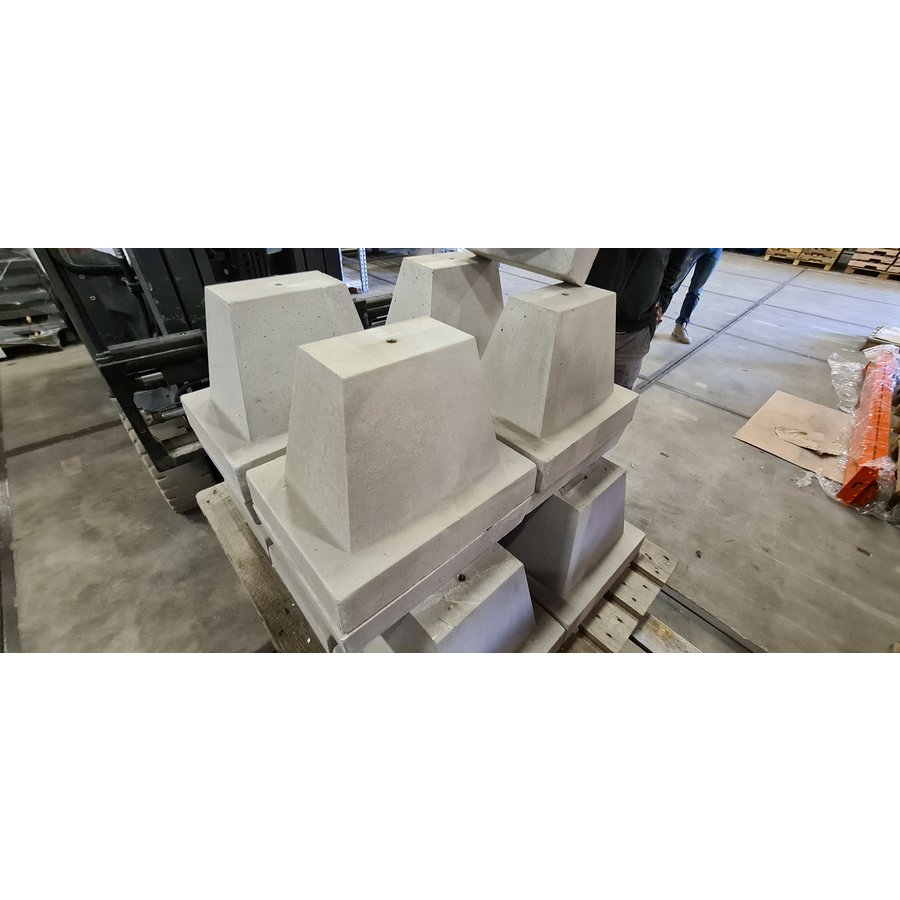 Maatwerk betonpoer (speciaal op maat gemaakt)