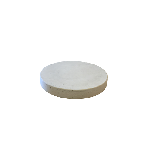 Ronde tegels grijs beton ø 23 cm