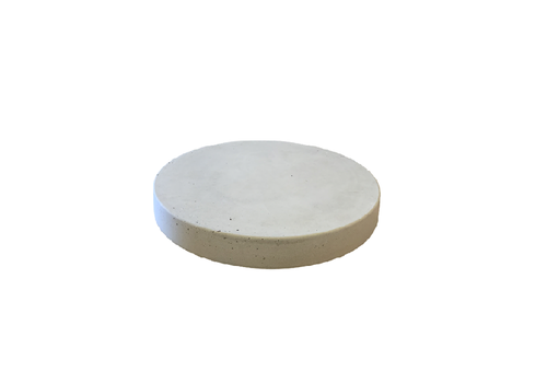 Ronde tegels grijs beton ø 27 cm