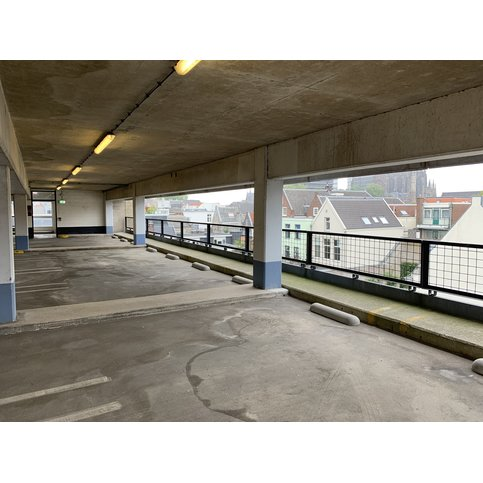 Varkensrug beton ROND grijs