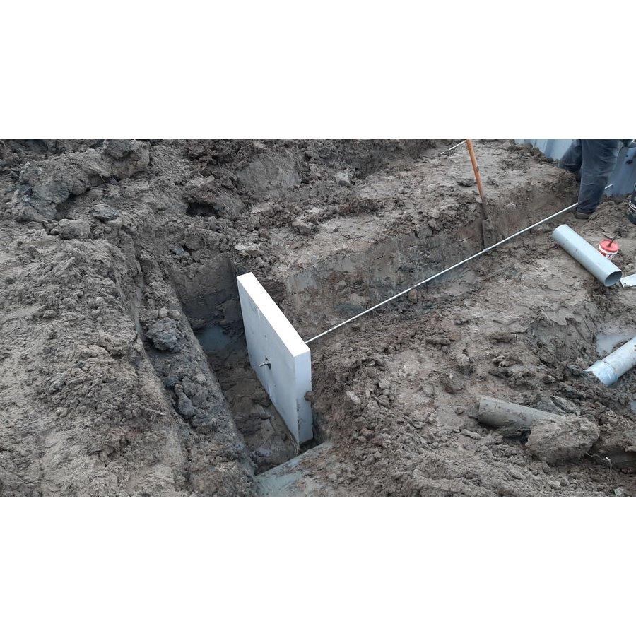 Betonnen ankerplaten 60x60x10 cm