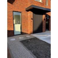 Ronde tegels grijs beton ø 35 cm