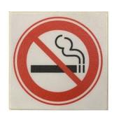 Stoeptegel verboden te roken