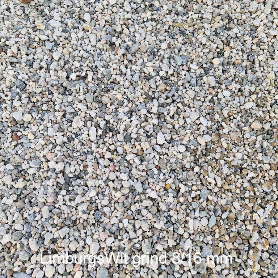 Limburgs wit grind 8/16 mm Zakje 20 kg