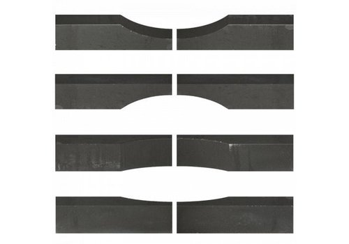 Stapelblok Wave antraciet 15x15x60 cm
