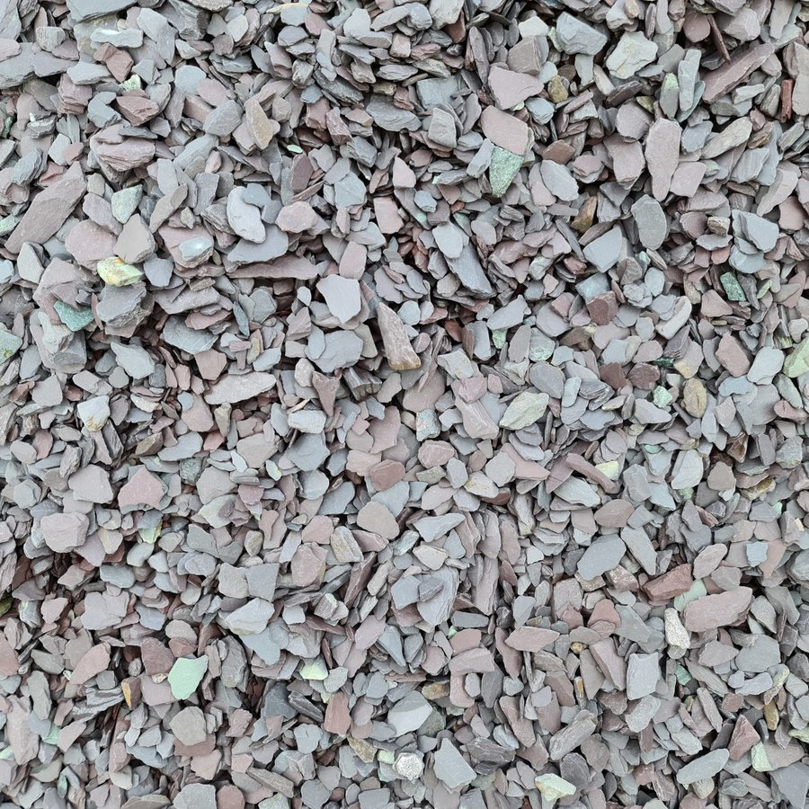 Canadian Slate paars 30/60 mm Zakje 20 kg