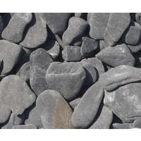 Flat pebbles zwart Zakje 20 kg