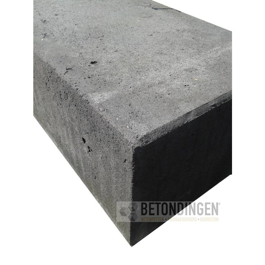 Mega stapelblok 20x30x60 cm antraciet