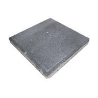 Betontegel 30x30x4,5 cm antraciet met facet