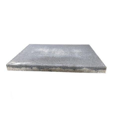 Betontegel 40x60x5 cm antraciet met facet