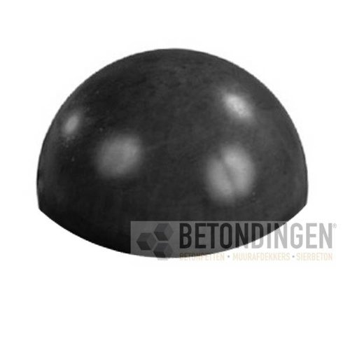 Parkeerbol zwart gecoat Ø 33 cm