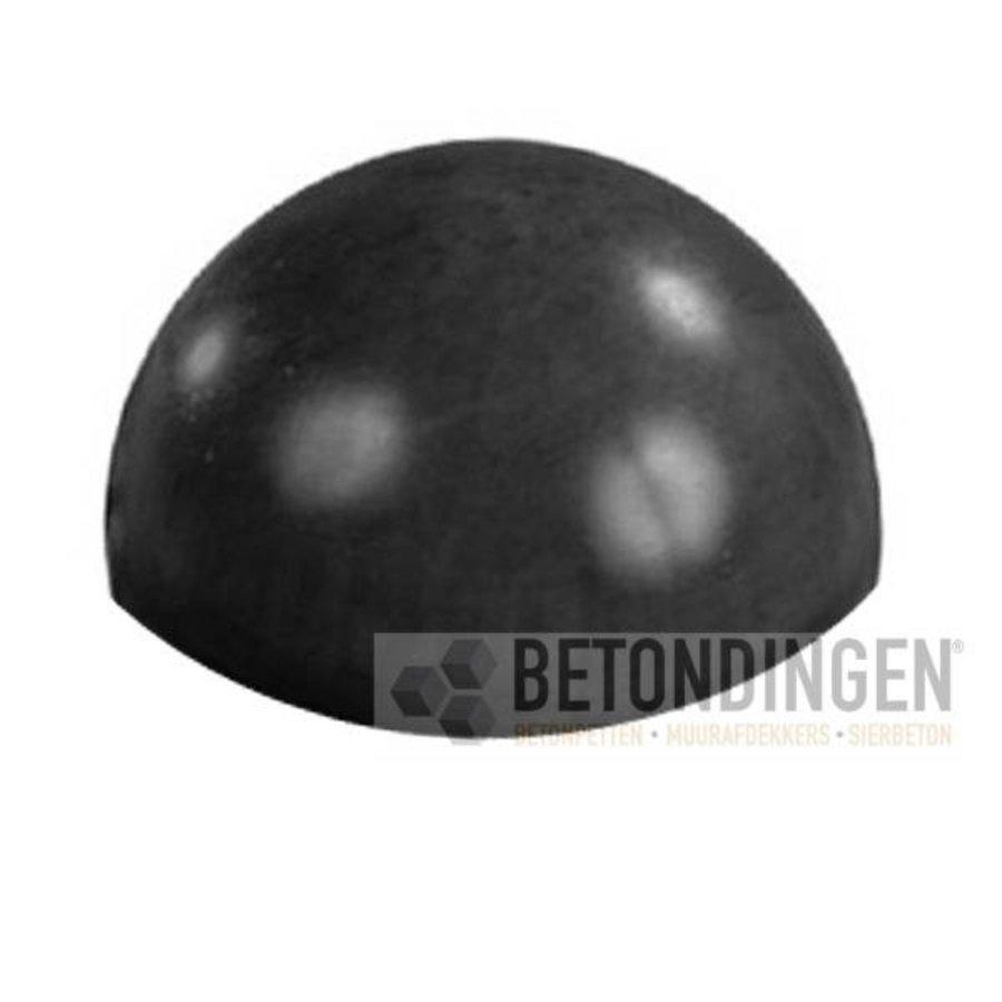 Parkeerbol zwart gecoat Ø33 cm