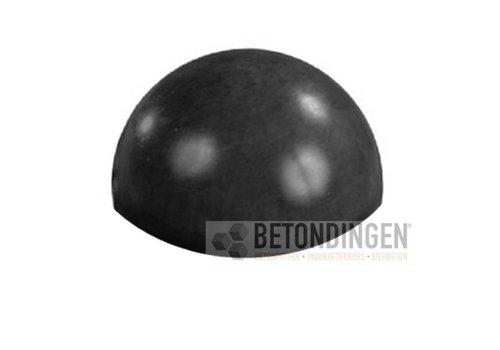 Parkeerbol zwart gecoat Ø 50 cm