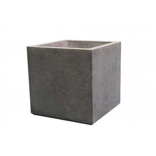 Bloembak beton vierkant XL