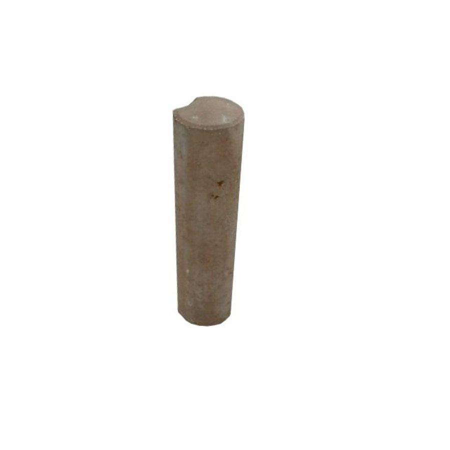 Palissade Ø 11x40cm bruin