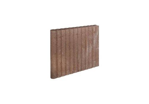 Palissadebanden bruin Ø 6x60x50 cm