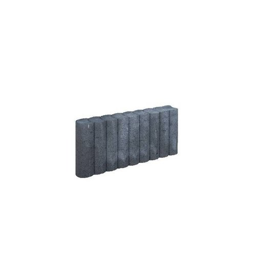 Minirondobanden rond Ø 6x25x50cm antraciet
